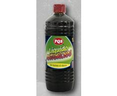Parafina liquida para antorchas y velas - 1 Litro de Líquido para antorcha y cualquier sistema de iluminación a petróleo - Tapón de seguridad para niños - Sin humo ni olores