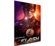 Instabuy Poster - TV Series - Playbill - The Flash Variant 08 Manifesto 70x50