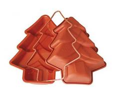 Silikomart 20.203.00.0060 - SFT203 Molde forma Árbol de Navidad en silicona Terracota