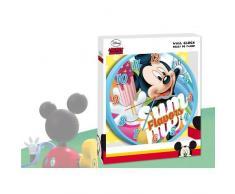 Mickey Mouse - Reloj de pared (Kids Euroswan WD17193)