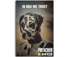 Predicador Temporada 3 Nueva serie de programas de televisión POSTER LW Impresión en lienzo Decoración Decoración de la sala Impresión en lienzo-50x70cm Sin marco