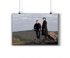 Pentagonwork Sherlock - Póster de la serie de televisión (impresión pequeña), papel, 010-126, A4 8x12 inch 21x29cm
