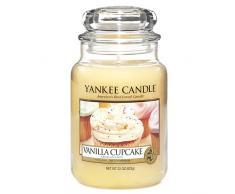 Yankee Candle vela en tarro grande, Pastel de vainilla