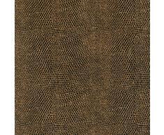 Caspari Inc. - Papel de regalo (2,5 m aprox.), diseño de piel de serpiente, color marrón y negro