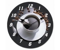 RELOJ DE PARED DISENO ESPRESSO CAFE EXPRESO RELOJ DE COCINA DECORACION 30CM MODERNO - Tinas Collection