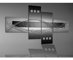 BILDER-MANUFAKTUR, MURAL DE LONA, IMPRESIÓN ARTÍSTICA, MURAL, IMAGEN, IMÁGENES, 5031, ARTE DIGITAL ABSTRACTO - Größe 200 cm x 90 cm
