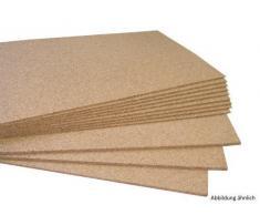 acerto 30105 Tablón de notas Placa de corcho 100 cm x 150 cm - 10 mm grosor alta calidad Placa de corcho - elástico y antiestático