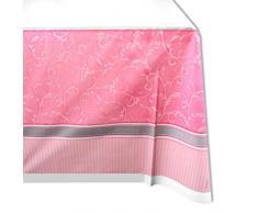 Amscan 573847 - Mantel, plástico, color rosa
