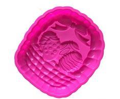 Gran cesta de huevos de Pascua en el molde de silicona para tartas para horno Pizza placa Moon Cake Pan