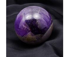 Harmonize Piedra Decorativa de Piedra Amatista de Reiki Que Cura la Bola Que equilibra la Bola de la Esfera de la decoración de la Tabla