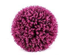 Pelota de hierba decorativa de imitación de plástico de alta calidad, diámetro de 19/24/29 cm, barra de bola, para la compra, boda, vacaciones, decoración de plástico, se puede colocar o colgar