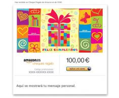 Cheque Regalo de Amazon.es - E-mail - Papel regalo