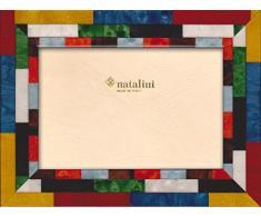 Natalini MIRA RossoBG 13X18 Marco de Fotos con Soporte para Mesa, Madera, Multicolor, 13 X 18 X 1,5