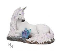 Nemesis Now - Figura Decorativa (19 cm, Resina Blanca, Talla única)