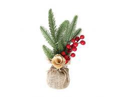 WUFANGFF Regalos para El Año Nuevo Árbol De Navidad Artificial Pequeño Árbol De Navidad Artificial Mini Decoraciones De Navidad Y Año Nuevo para(30Cm),Un
