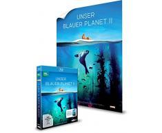 UNSER BLAUER PLANET II - Die komplette ungeschnittene Serie zur ARD-Reihe Der blaue Planet (Amazon Exklusiv - mit Poster) [3 Blu-ray] [Alemania] [Blu-ray]
