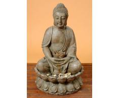 Fuente de Buda escultura estatua 86 cm con agua y luz Feng Shui Figura