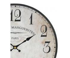 Reloj De Pared Reloj De Cocina Oficina Reloj con Cafe Diseño Vintage estilo Nostalgie