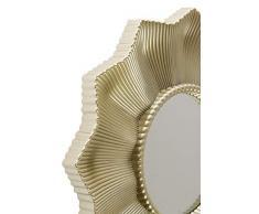 elbmöbel Juego de 3 Espejo Espejo de Pared Barroco Espejo dekopiegel 24 x 24 x 2