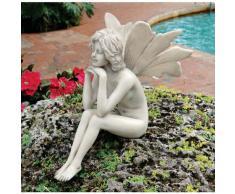 Design Toscano by Blagdon PD1546 - Figura decorativa para jardín (resina), diseño de hada