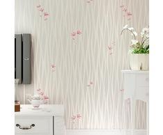 papel pintado rayas verticales simple papel pintado pared fondo floral papel pintado no tejido 3d dormitorio - Papel Pintado Rayas Verticales