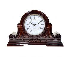 Reloj de sobremesa estilo clásico. Analógico números romanos (45,5 x 27,5 x 10,5 cm) - Movimiento de cuarzo. Mod.2828