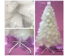 Árbol de Navidad artificial de pino blanco Envio Gratis* C/Soporte metálico 120cm-210cm (180CM 250 RAMAS)