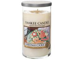 Yankee candles vaso vela en tarro, galleta de Navidad