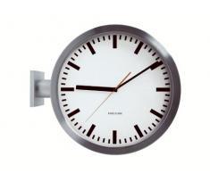 Karlsson Station - Reloj de pared, doble cara