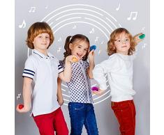 40 Set de Batidores de Huevos - 6 Colores Surtidos - Ideal para los regalos de la fiesta de Pascua - Rellenos de bolsos para fiestas y bolsas de regalos para bebés y niños pequeños