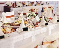 Paquete de 30 mini pizarras con soporte, pizarras rectangulares pequeñas de madera para boda, fiesta, cumpleaños, lugar tarjetas, tarjeta de nombre de alimento, color Quadrilateral
