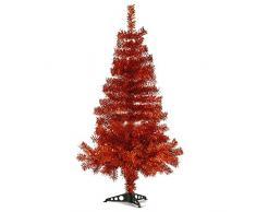 Hab & Gut -XM174- Árbol de Navidad Artificial/Abeto Colorado Cobre - Altura: 120 cm