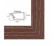 Pisa MDF marco para cuadros y pósteres 20x25 cm 25x20 cm Color selecionado: moca Con vidrio acrílico antireflejo