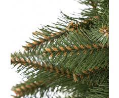 árbol de Navidad artificial PREMIUM árbol de Navidad árbol de Navidad artificial abeto árbol plástico PVC -- 220cm ABETO NATURAL