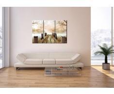 Cuadro sobre lienzo - 3 piezas - Impresión en lienzo - Ancho: 105cm, Altura: 70cm - Foto número 2394 - listo para colgar - en un marco - CE105x70-2394