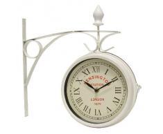 Reloj Estacion 2 Caras Med. Blanco