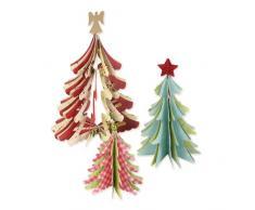 Ellison Europe Sizzix Bigz Brenda Walton - Cartucho para máquina de troquelar, diseño de árbol de Navidad en 3D