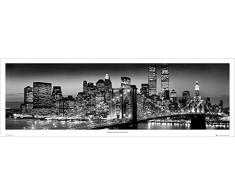 GB eye LTD, New York, Manhattan Black - Berenholtz, Poster Puerta, 53 x 158 cm