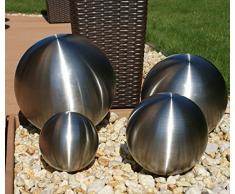 """Cepewa – Bola decorativa """"Acero Inoxidable diferentes variedades bola de jardín Césped Deko terass endeko"""