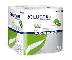 Lucart Professional 821421N toallas, de papel 50 unidades, papel reciclado (caja de 4)