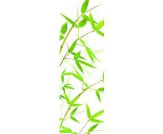 Plage Bambús Vinilo Adhesivo para la Cocina, Vinilo, Verde, 60x180 cm