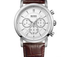 d88c1d488d36 Hugo Boss 1512871 - Reloj cronógrafo de cuarzo para hombre con correa de  piel
