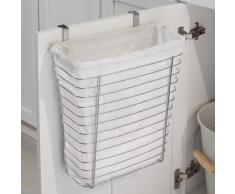 InterDesign® Axis® - Bote para basura/Canasta para almacenamiento, para colocar sobre el gabinete