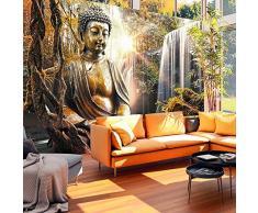 Fotomural 50x35 cm - 3 tres colores a elegir - Papel tejido-no tejido. Fotomurales - Papel pintado naturaleza buddha h-C-0032-a-c