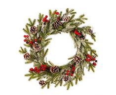 applyvt Coronas De Navidad, Corona De Navidad, Guirnalda De Navidad para Decoración, Navidad, Adviento, Corona De Puerta