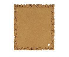 Bi-Office Rococork - Tablón de corcho, 45 x 40 cm, color natural