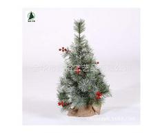 WUFANGFF Mini Árbol De Navidad Nieve Pegajosa Tabla De Árbol De Navidad Árbol De Navidad Floración Aguja De Pino Blanco Pegajoso,60Cm Tabla Tree