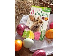 Heitmann Deco Pascua de Juego: Cesta, heno y huevos Color para el perferkte Nido, natural, 24 x 17 x 12 cm, 3 unidades de medida