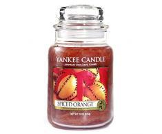 Yankee Candle 1188030E vela en un vaso doze, Naranja con un toque de especias, Frasco grande