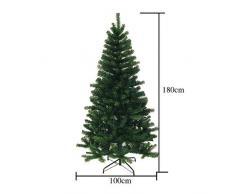 Hengda® 180 cm de altura Árbol de navidad artificial único Árbol de art déco Árbol de arte con soporte Árbol de navidad